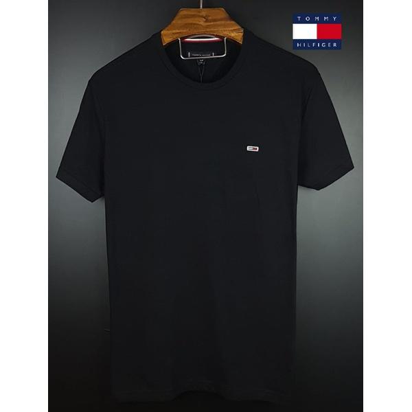 Camiseta Tommy Basica Preta