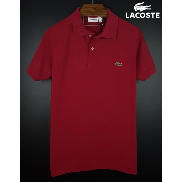 Camisa Gola Polo Lac Bordo