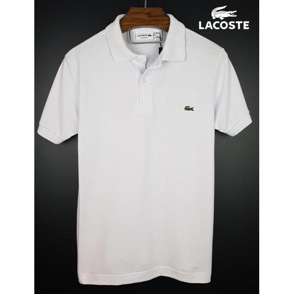Camisa Gola Polo Lac Branca