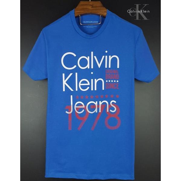 Camiseta CK Azul 1978