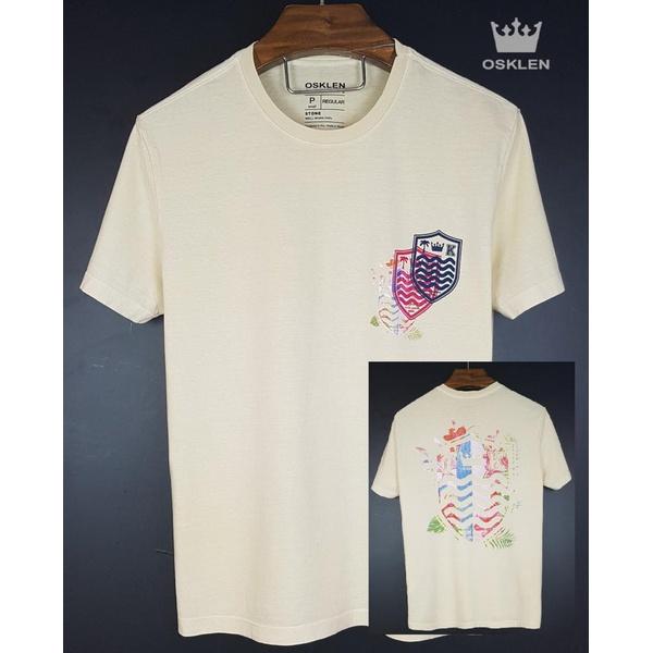 Camiseta Osk Creme