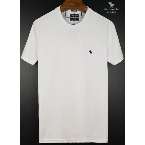 Camiseta Abercrombie Basica Branca