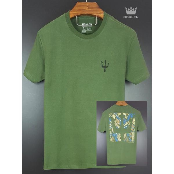 Camiseta Osk Verde Musgo 1