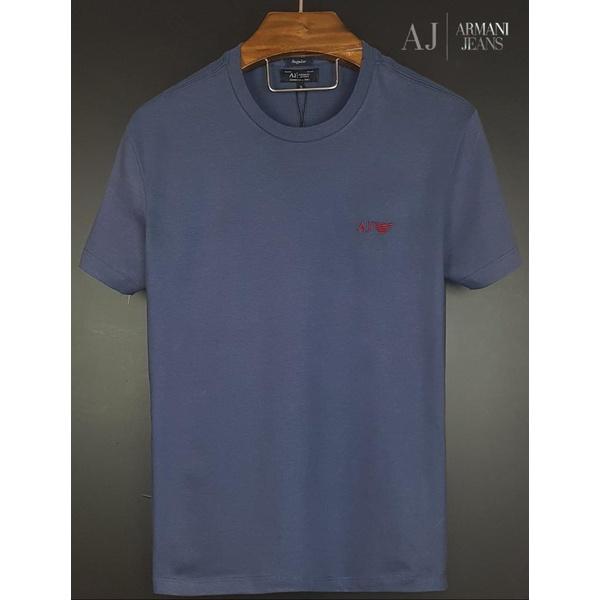 Camiseta Armani Marinho Básica