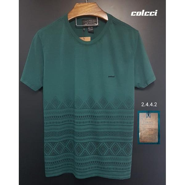 Camiseta Colcci Verde