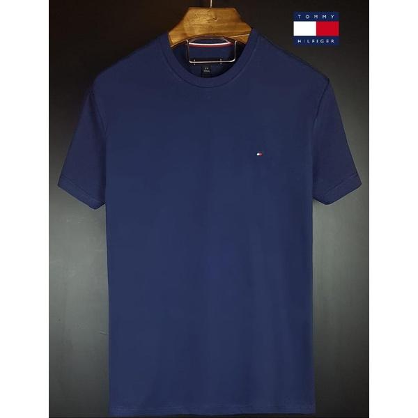 Camiseta Tommy Basica Marinho