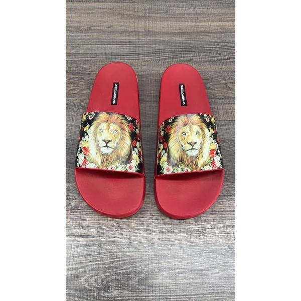 CHINELO Dolce e Gabanna Vermelho leão