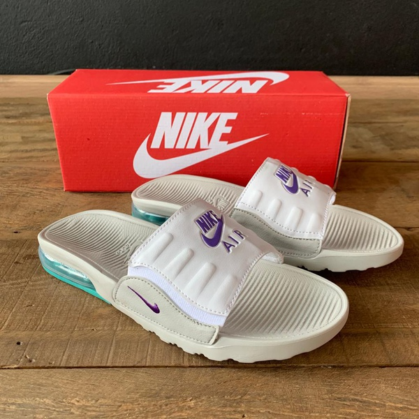 CHINELO NK AIR MAX BRANCO/VERDE