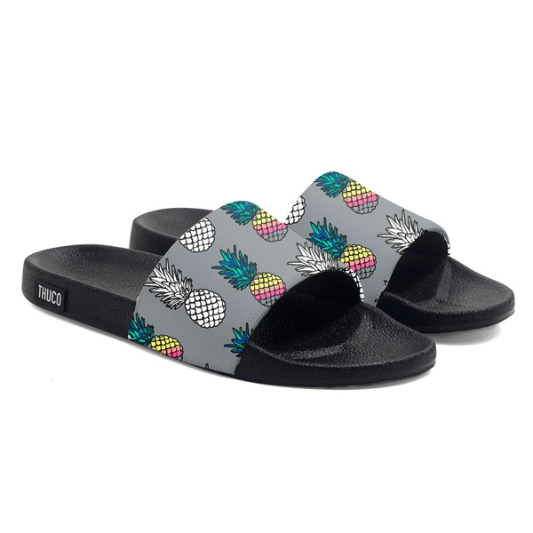CHINELO SLIDE CORES ABACAXI