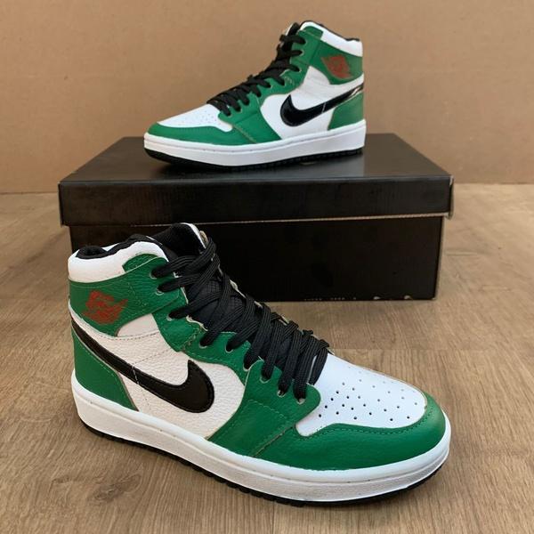 BOTA NK JORDAN Retro Lucky green