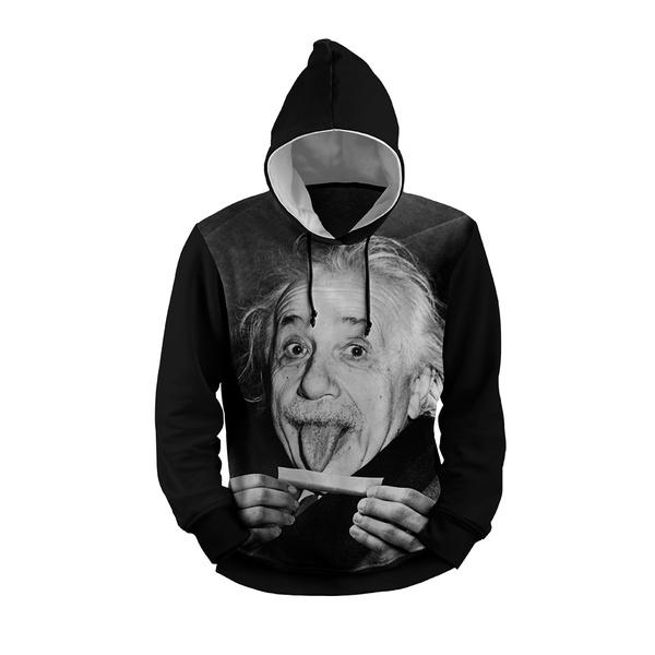 MOLETOM COM CAPUZ Einstein