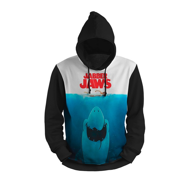 MOLETOM COM CAPUZ TUTUBARAO JAWS