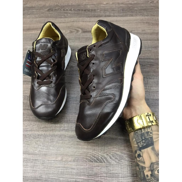 NEW BALANCE CLASSIC 1300 COURO CAFE