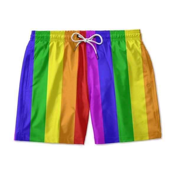 SHORT PRAIA LGBT