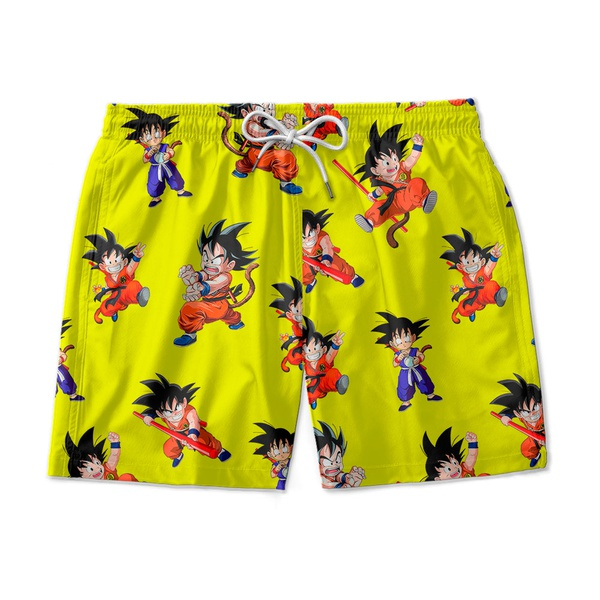 SHORT PRAIA DRAGON BALL