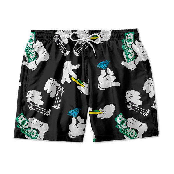 SHORT PRAIA MONEY MICKEY