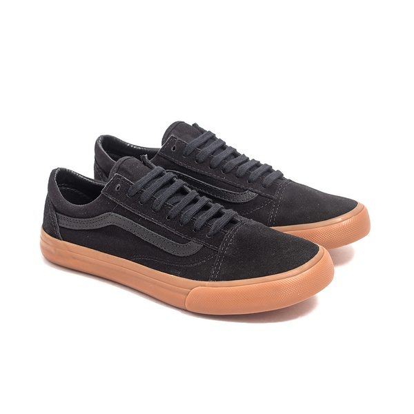 TENIS VS OLD SKOOL - PRETO COM CARAMELO