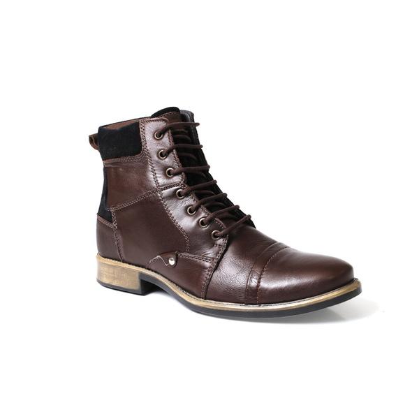 Bota Coturno Casual Masculino Tchwm Shoes