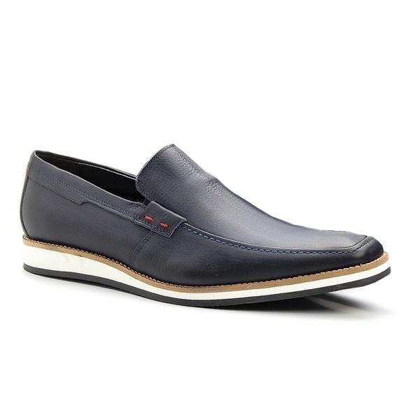 Sapato Casual Masculino Clássico Solado em Borracha