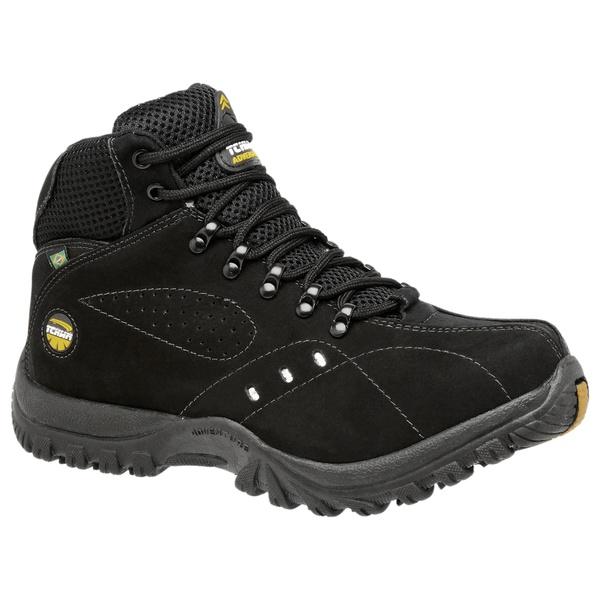 Bota Coturno Adventure Boots Nobuck Preto