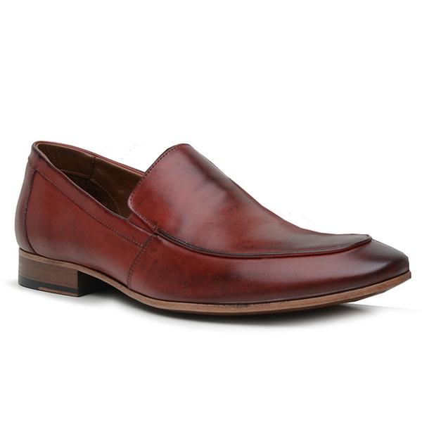 Sapato Loafer Casual Premium em Couro Red