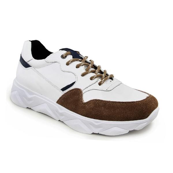 Tênis Masculino em Couro Tchwm Shoes Tracker