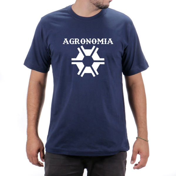 Camiseta Agronomia Azul Escura