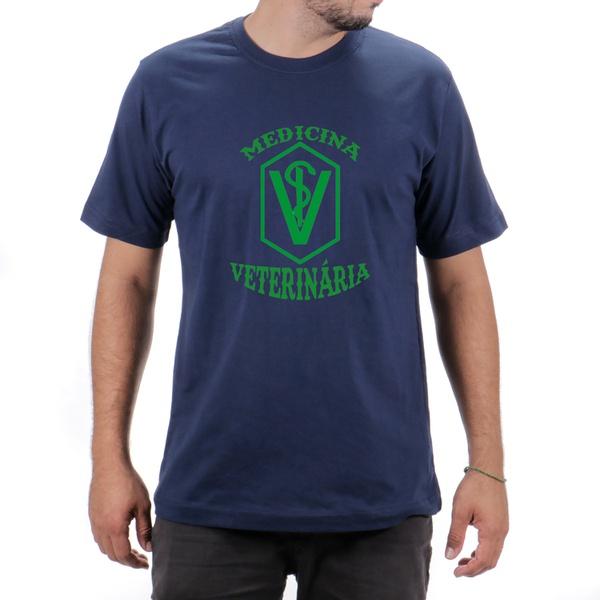 Camiseta Medicina Veterinaria Azul