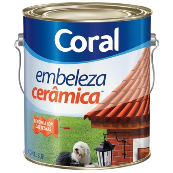 TINTA EMBELEZA CERÂMICA 3,6L CORAL