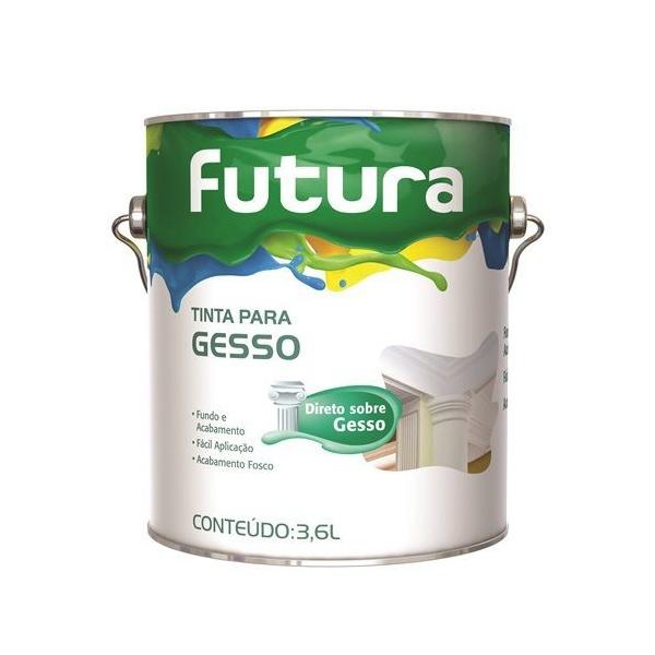 TINTA PARA GESSO 3,6L FUTURA