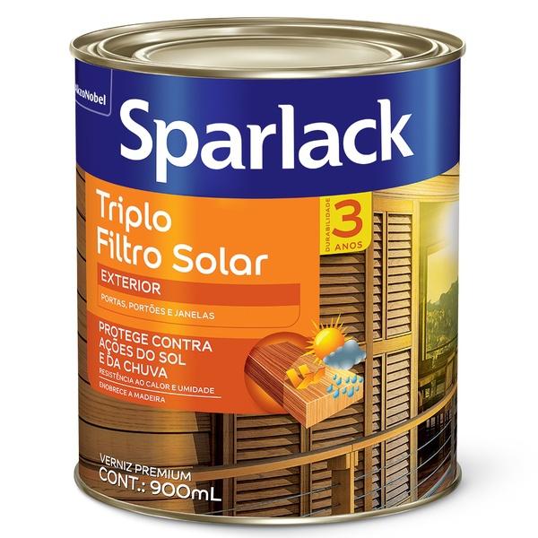 VERNIZ SOLGARD TRIPLO FILTRO SOLAR BRILHANTE 0,9L SPARLACK