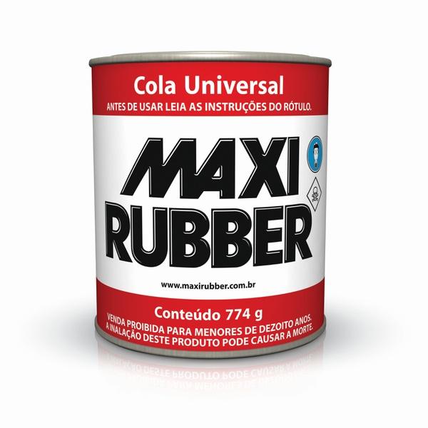 ADESIVO DE CONTATO UNIVERSAL 0,9L MAXI RUBBER