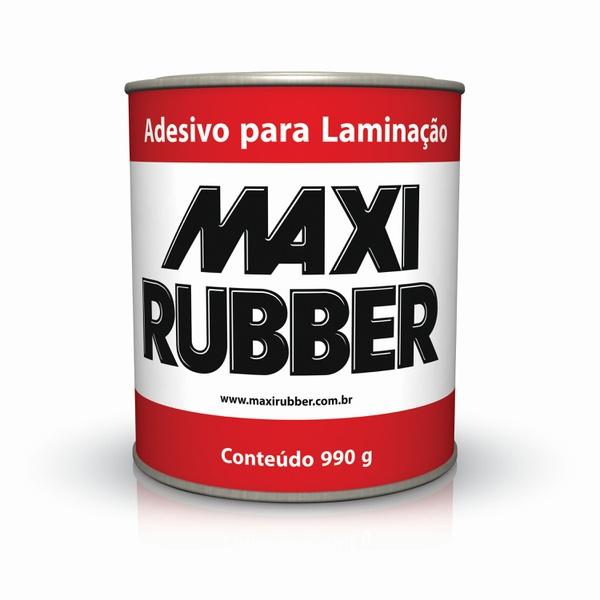 ADESIVO PARA LAMINAÇÃO 0,9L COM CATALISADOR MAXI RUBBER