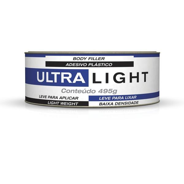 ADESIVO ULTRA LIGHT 495G COM CATALISADOR MAXI RUBBER
