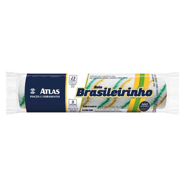 ROLO DE LÃ BRASILEIRINHO AT2014 9MMX23CM SEM CABO ATLAS