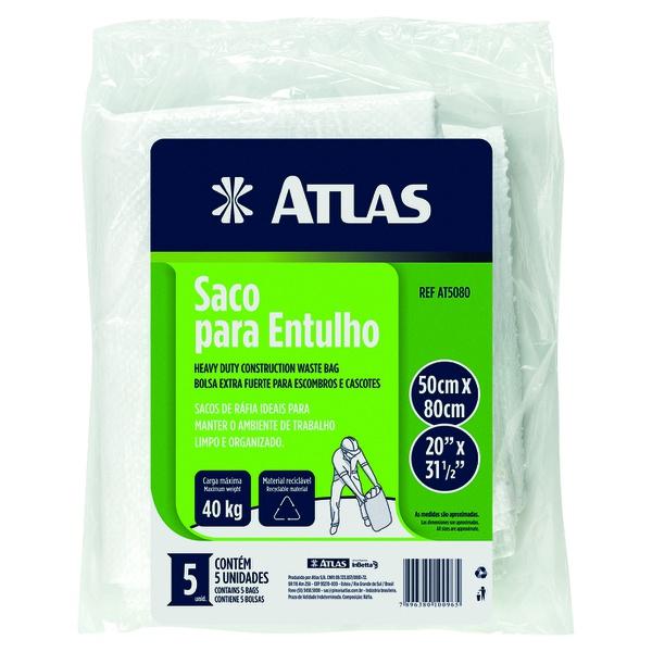 SACO PARA ENTULHO COM 5 PEÇAS ATLAS