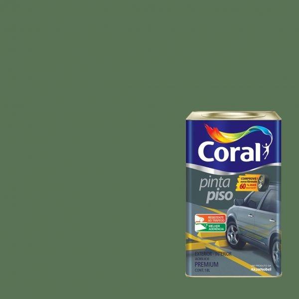 TINTA ACRÍLICA VERDE PINTA PISO 18L CORAL