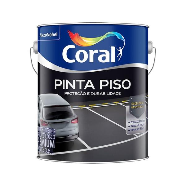 TINTA ACRILICA BRANCA PINTA PISO 3,6L CORAL