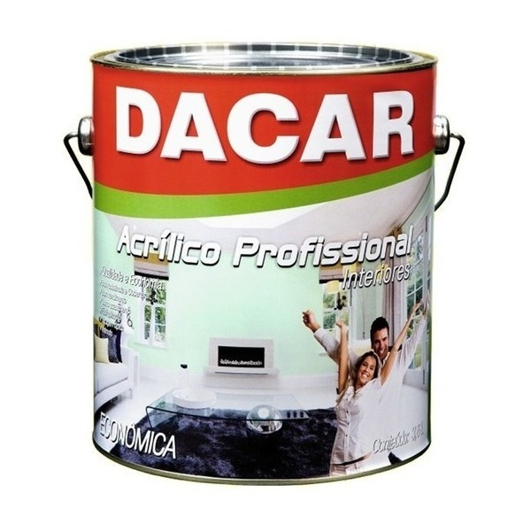 TINTA ACRÍLICA FOSCO PROFISSIONAL DACAR 3,6L