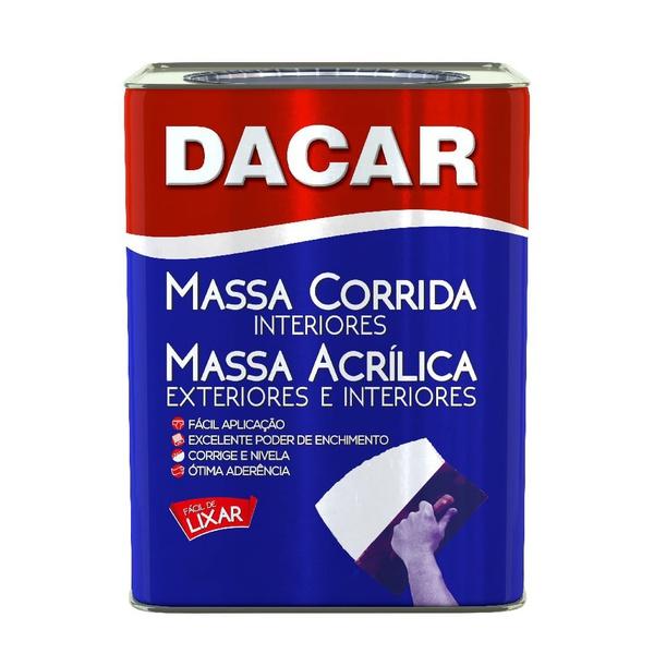 MASSA CORRIDA LATA 24KG DACAR