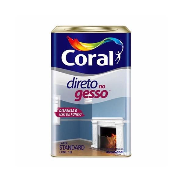 TINTA DIRETO NO GESSO 18L CORAL