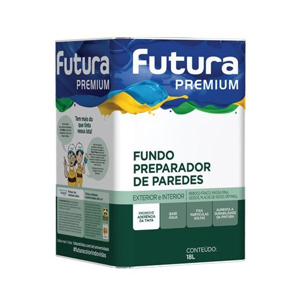 FUNDO PREPARADOR BASE ÁGUA 18L FUTURA