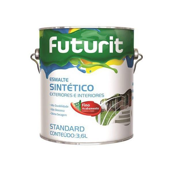TINTA ESMALTE FOSCO BRANCO 3,6L FUTURA