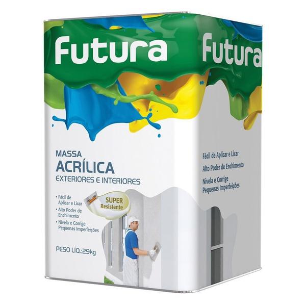 MASSA ACRÍLICA 18L FUTURA