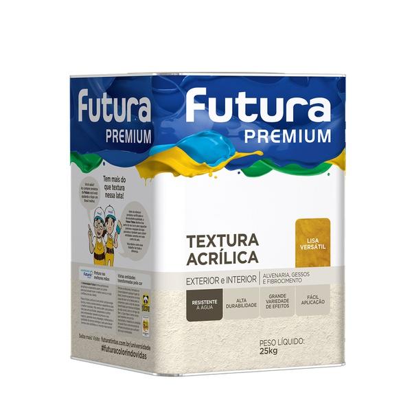 TEXTURA ACRÍLICA LISA VERSÁTIL 27,5KG FUTURA