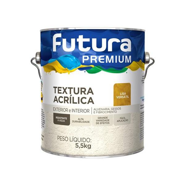 TEXTURA ACRÍLICA LISA VERSÁTIL 3,6L FUTURA