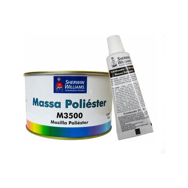 MASSA POLIÉSTER M3500 750G COM CATALISADOR LAZZURIL