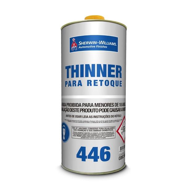 THINNER PARA RETOQUE 446 0,9L LAZZURIL