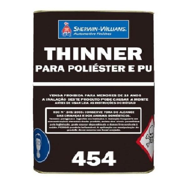 THINNER PARA POLIÉSTER/POLIURETANO 454 18L LAZZURIL