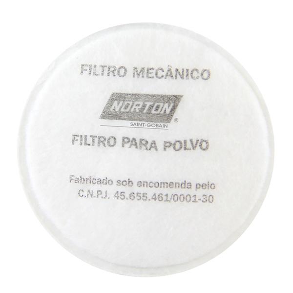 FILTRO MECÂNICO PARA RESPIRADOR(2 UNIDADES) NORTON